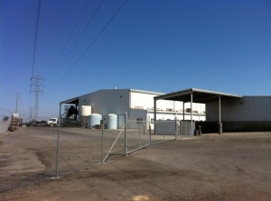Baker Commodities in Hanford - a critical processing facility for dairy farmers and public health.