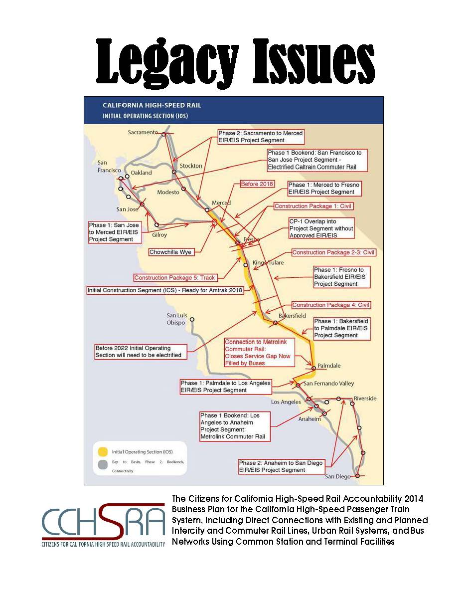 2014 CCHSRA Business Plan on California High-Speed Rail