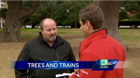 Frank Oliviera on California High-Speed Rail Tree Planting