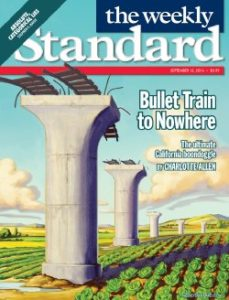 Bullet Train to Nowhere - The Weekly Standard